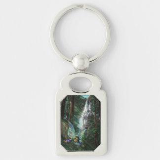 Fairy and Castles Fantasy Art Key Ring