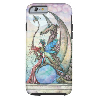 Fairy and Dragon Fantasy Art Tough iPhone 6 case