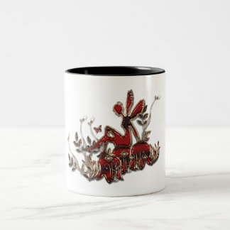 Fairy And Gem Two-Tone Coffee Mug