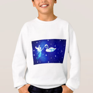 fairy and the swan sweatshirt