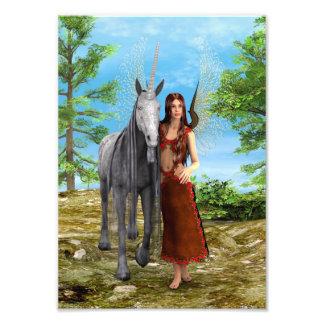 Fairy and Unicorn Photo Art
