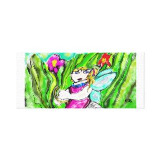 fairy art four canvas print