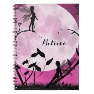 Fairy believe notebook