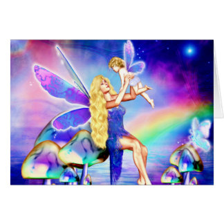 Fairy Blessing Greeting Card