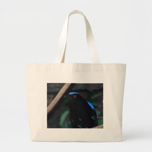fairy bluebird tote bag