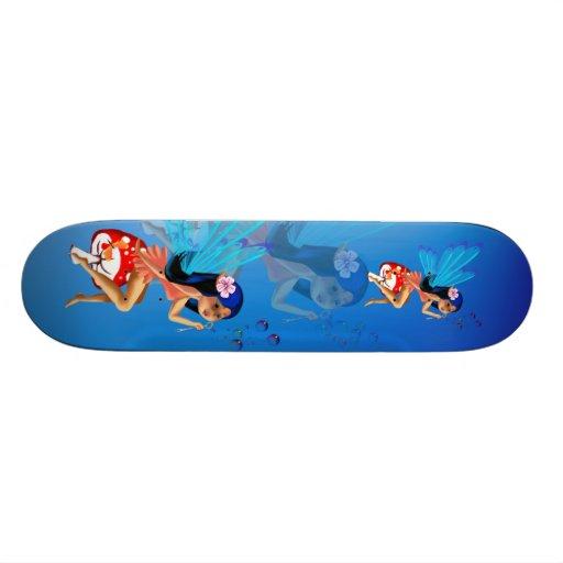 Fairy Bubbles Skateboard