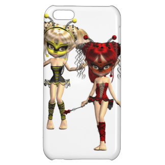 Fairy Bugs iPhone 5C Case