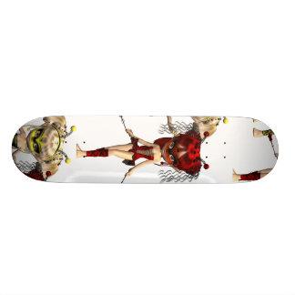Fairy Bugs Skateboard