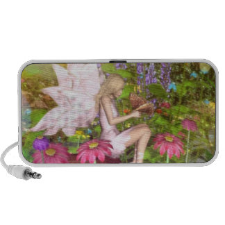 fairy butterfly Doodle Speaker