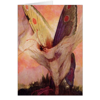 Fairy Butterfly Fine Childrens Designs Card