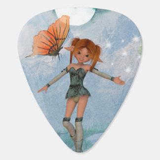 Fairy & Butterfly Guitar Pick