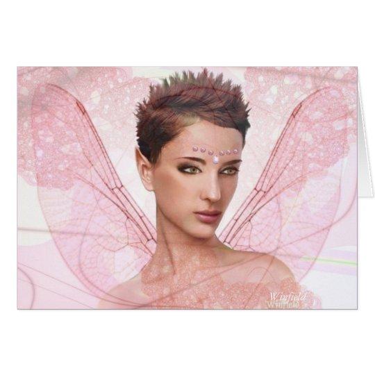 """Fairy card - """"Cassy"""" (blank)"""