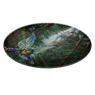 Fairy Castle Forest Cutting Board