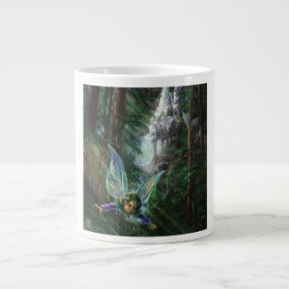 Fairy Castle Forest Large Coffee Mug