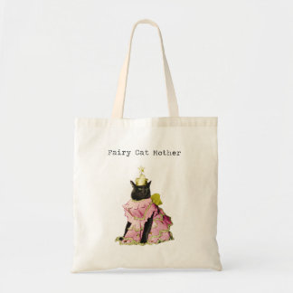 Fairy Cat Mother Cat Lovers Tote Bag