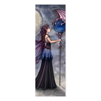Fairy Dragon Bookmark by Molly Harrison Pack Of Skinny Business Cards