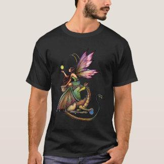 Fairy Dragon Ladies T-Shirt by Molly Harrison