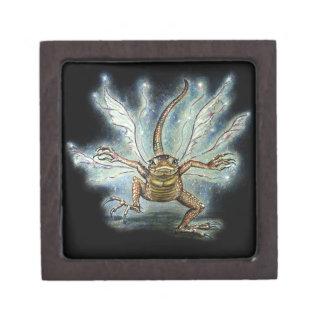 Fairy Dragon magical fairy  keepsake box Premium Jewelry Box