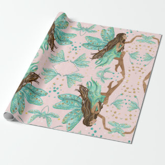 Fairy Dragonflies Gift Wrapping Paper