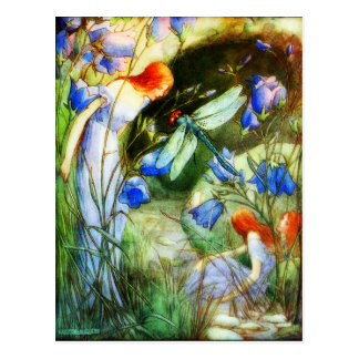 Fairy Dragonfly Postcard
