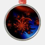 Fairy flower christmas ornament