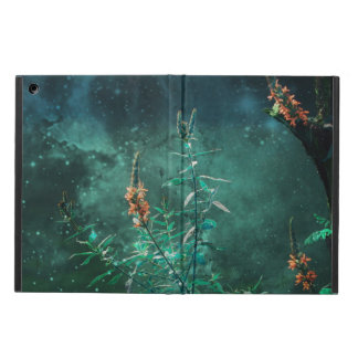 Fairy Flowers in the Jade Moonlight iPad Air Cover