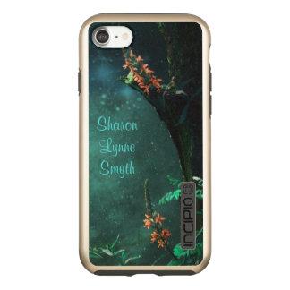 Fairy Flowers in the Jade Moonlight *Personalise* Incipio DualPro Shine iPhone 7 Case