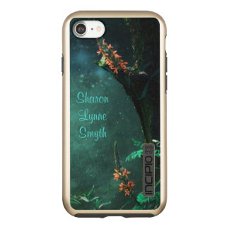 Fairy Flowers in the Jade Moonlight *Personalize* Incipio DualPro Shine iPhone 8/7 Case