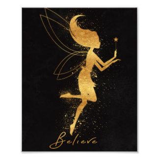 Fairy Foil Art Photo Print
