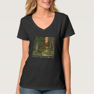 """Fairy Forest at Sunset"" by Ivan Bilibin, 1906. T-Shirt"