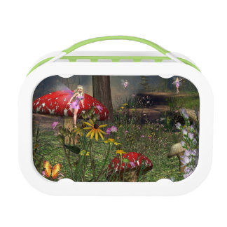 Fairy forest lunch box