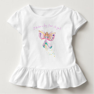 """Fairy Friend"" Baby Ruffle Tee"