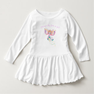 """Fairy Friend"" Toddler Ruffle Dress"