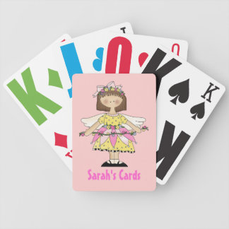 Fairy Girl Custom Playing Cards