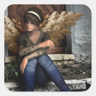 Fairy Girl Gothic Angel Fantasy Sticker