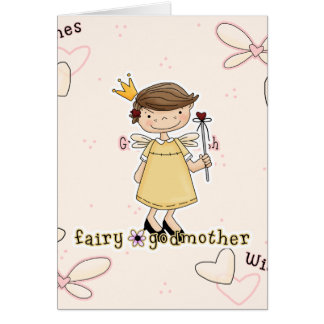 Fairy Godmother Greeting Card