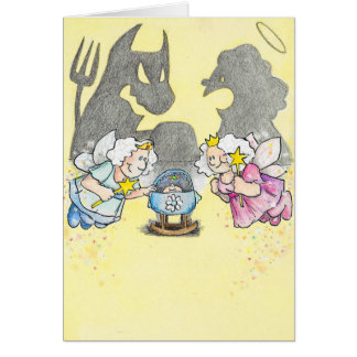 Fairy Godmothers greeting card by Nicole Janes