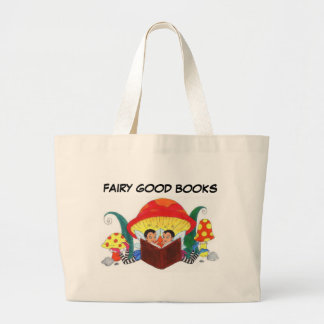 FAIRY GOOD BOOKS TOTE BAGS
