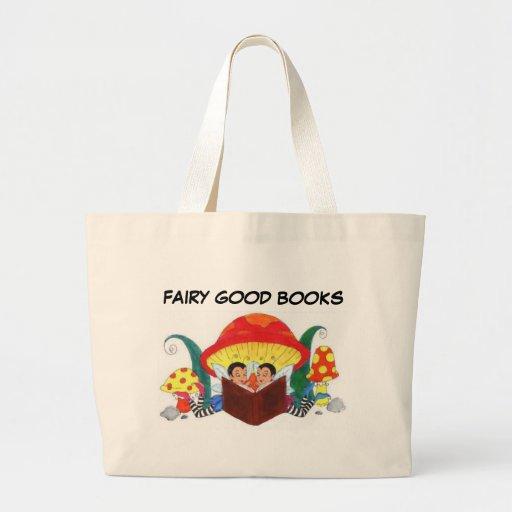 FAIRY GOOD BOOKS TOTE BAGS