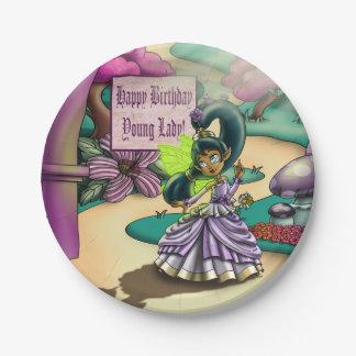 "Fairy Goodness Birthday Paper Plates 7"""