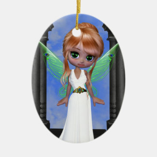 "Fairy ""Hera"" Greek Goddess Ceramic Ornament"