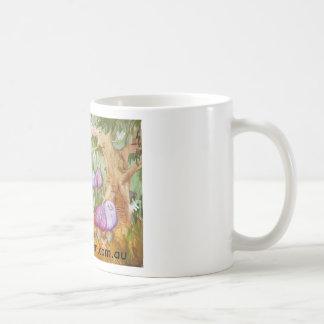 Fairy homes basic white mug