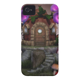 Fairy House Deco iPhone 4 Case-Mate Cases