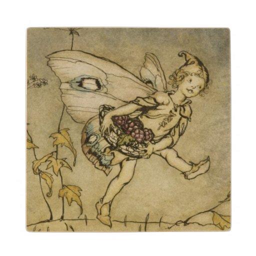 Fairy, illustration from 'A Midsummer Night's Drea Wood Coaster