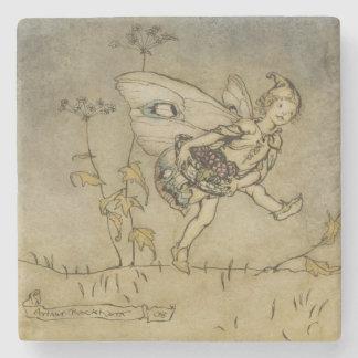 Fairy, illustration from 'A Midsummer Night's Drea Stone Coaster
