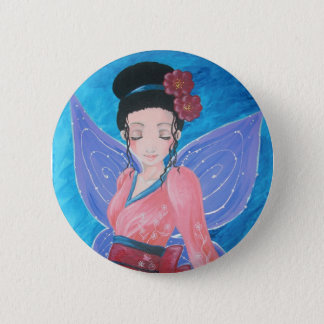 - Fairy kimono swipes in 6 Cm Round Badge