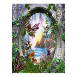 Fairy Kingdom Postcard
