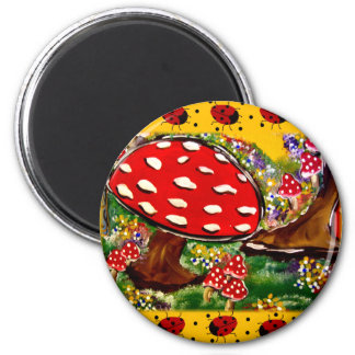 Fairy Lady Bugs Magnet