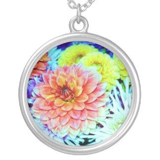 Fairy Landing Spot Round Pendant Necklace