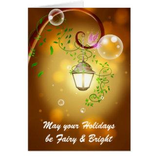 Fairy Lantern Greeting Card